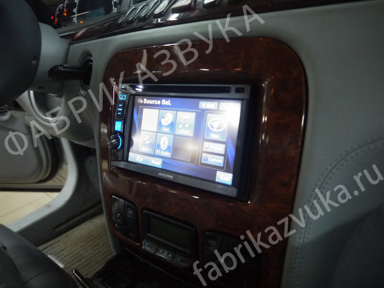 2 din магнитола Alpine IVE W530BT