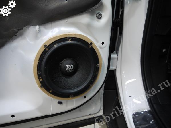 установка компонентной акустики на honda hr-v