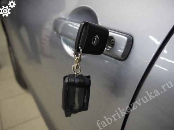 Установка сигнализации с автозапуском на Nissan Qashqai - установка автосигнализации
