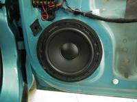 Установка   акустики в Opel Corsa