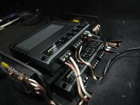 Установка усилителей в Subaru Forester