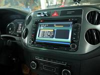 Установка штатной магнитолы в Volkswagen Tiguan