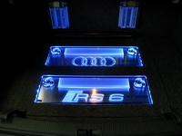 Инсталляция усилителей в Audi RS6