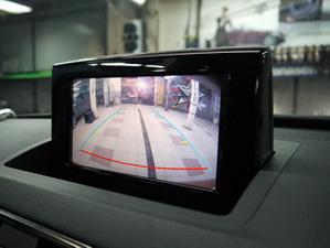 Изображение с камеры на заводском дисплее