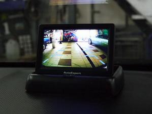 Изображение с камеры на отдельном мониторе